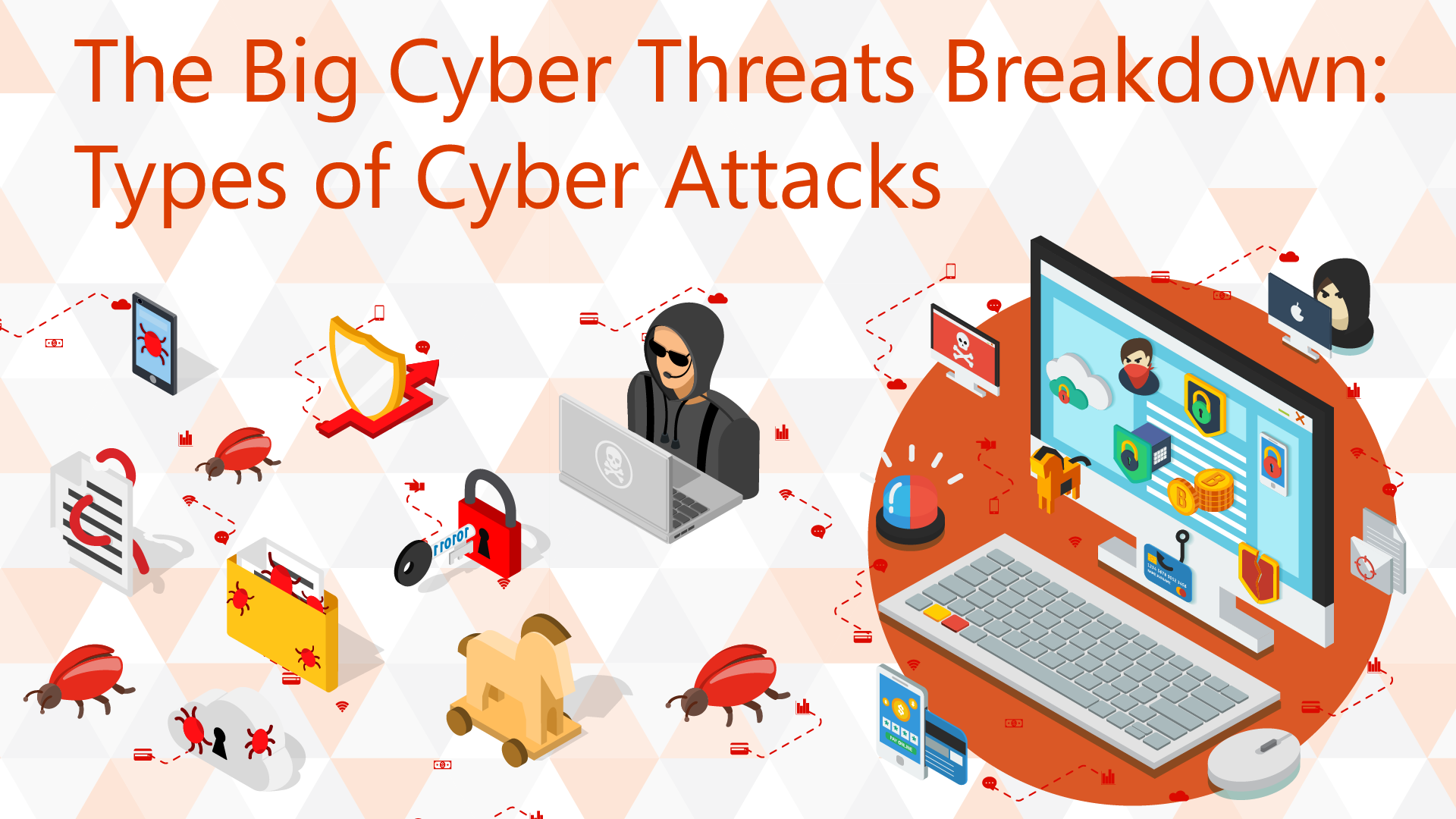 Different Types Of Cyber Attack You Should Be Aware Off