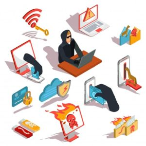 what are hacking and hackers define the types of attacks