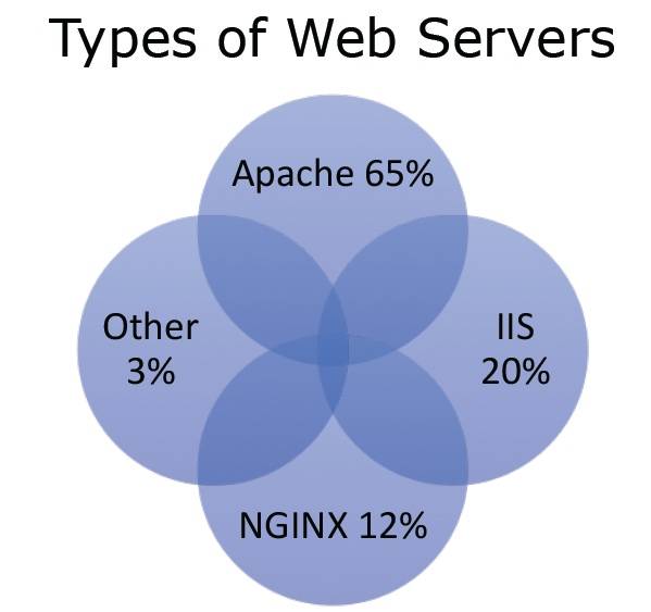types of web server